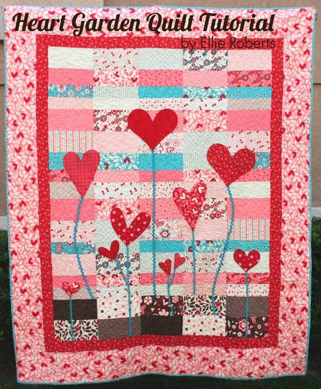 Heart Garden Quilt Tutorial