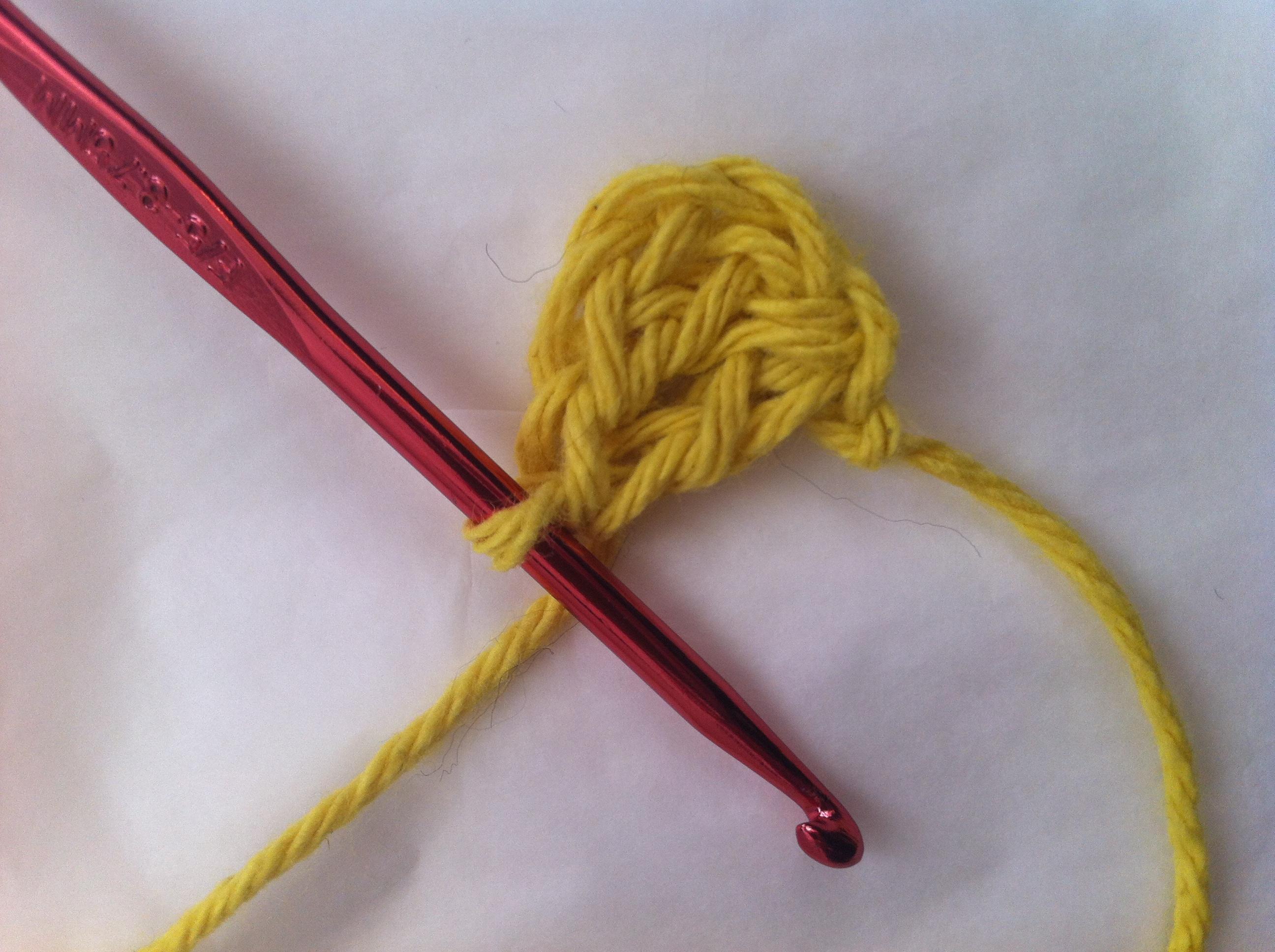 dc crochet flower