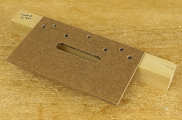 router mortising template