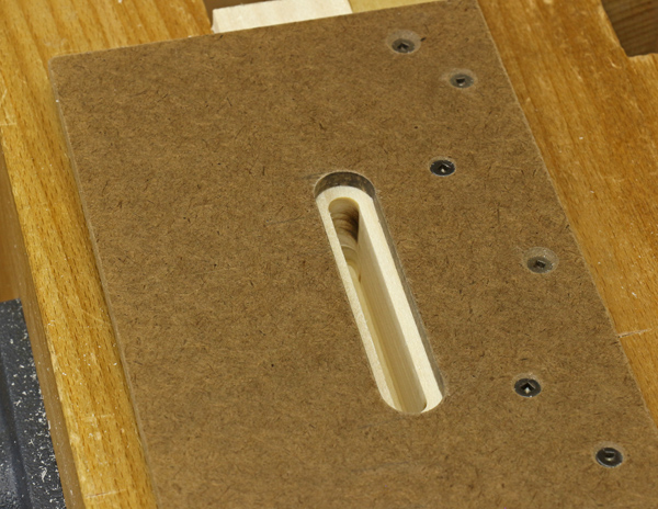 router mortising with template