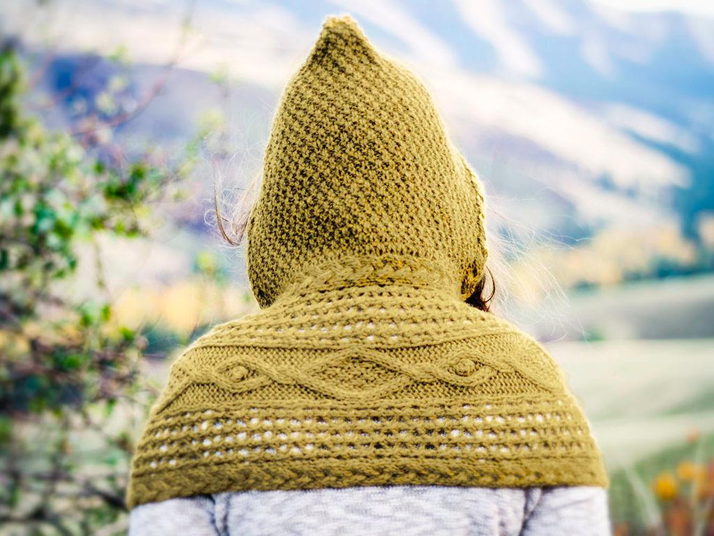 Mirkwood Hood knitting kit