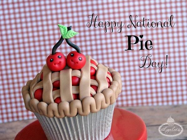 National Pie Day Cupcake Tutorial