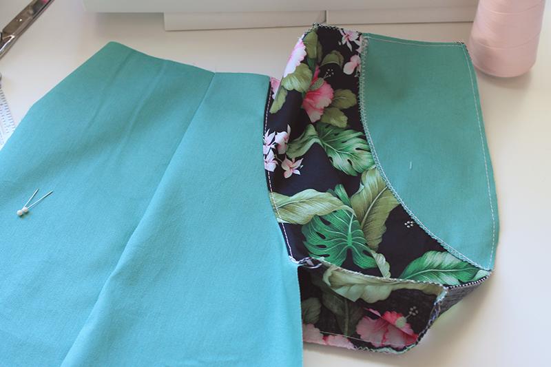 sewing pockets - understitching