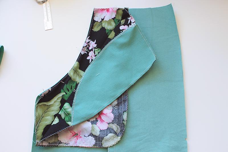 sewing pockets