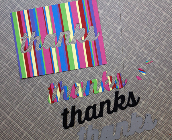 Card 3 and 4 Die Cut Pieces