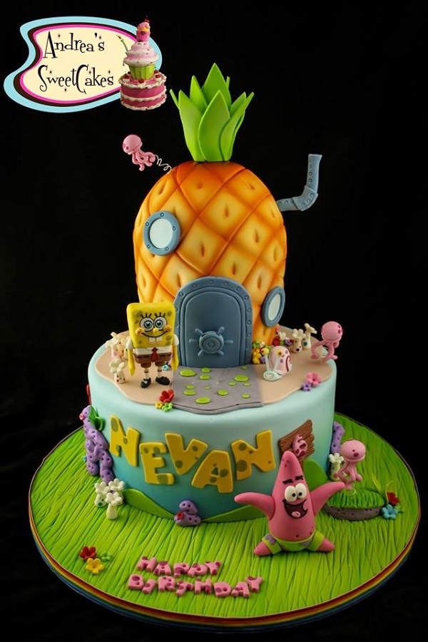 Spongebob Pineapple cake