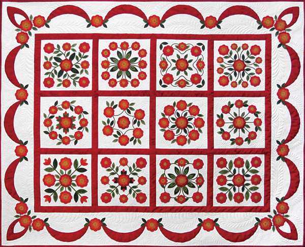 Traditions Rose of Sharon quilt.