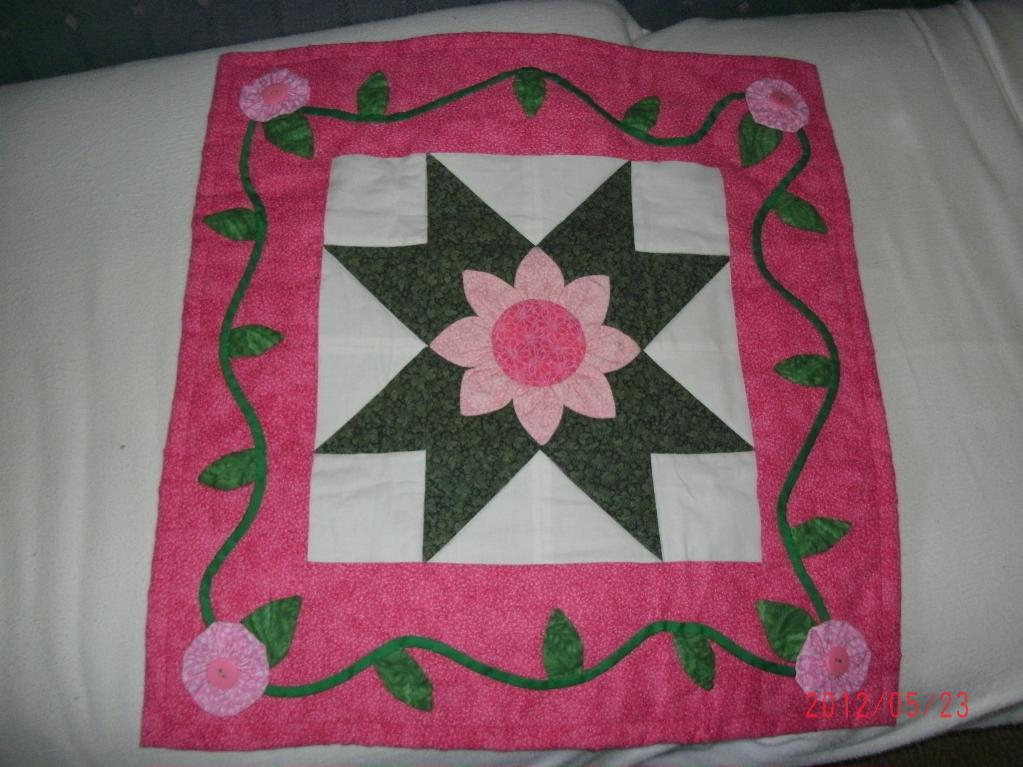 one block doll quilt