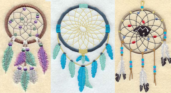Embroidery Library dream catchers