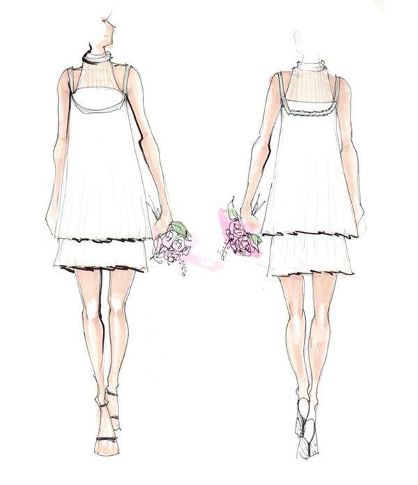 fashon design sketches 003