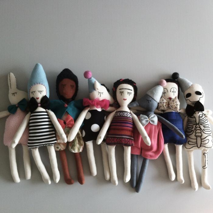 Marina Rachner and her beautiful hand-stitched dolls