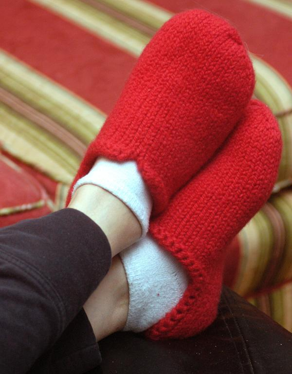 Sherwood Slippers knitting pattern
