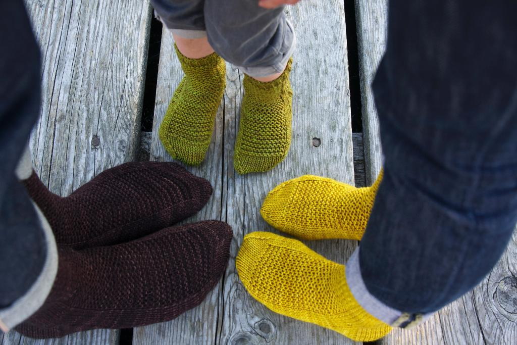 Rye Worsted-Weight Socks knitting pattern