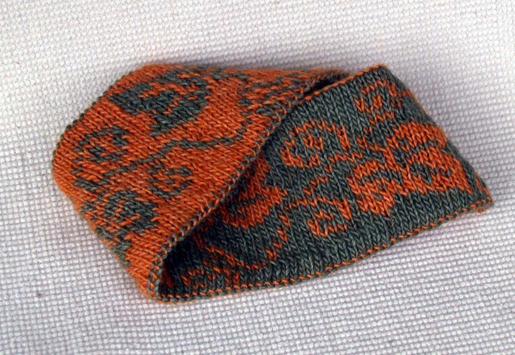 Duvino  Headband knitting pattern