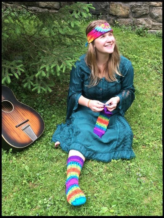 Groovy: The Socks knitting pattern