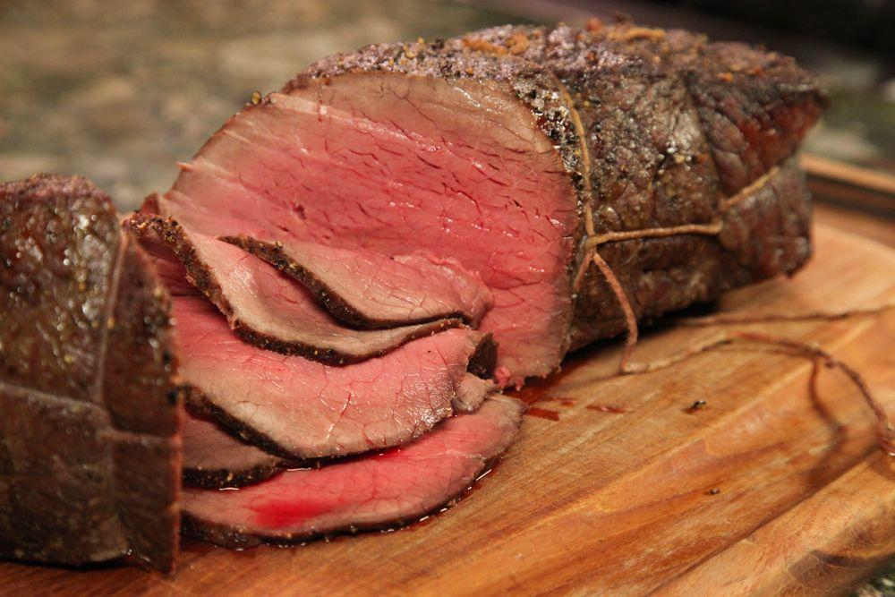 Cut meat thinly against the grain