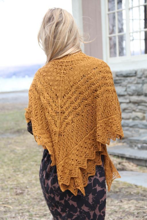 Life Cycle Shawl knitting pattern