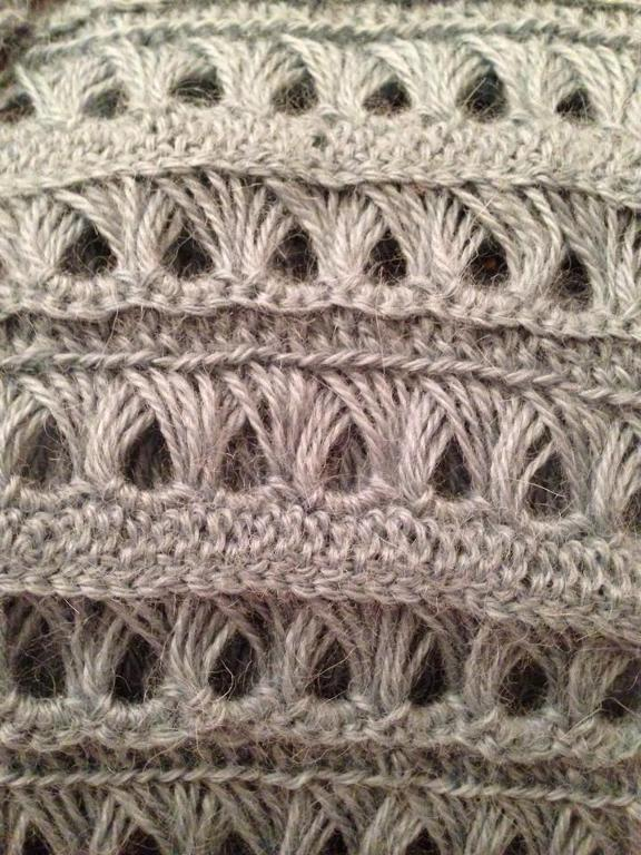 wendybea's Broomstick Lace Scarf
