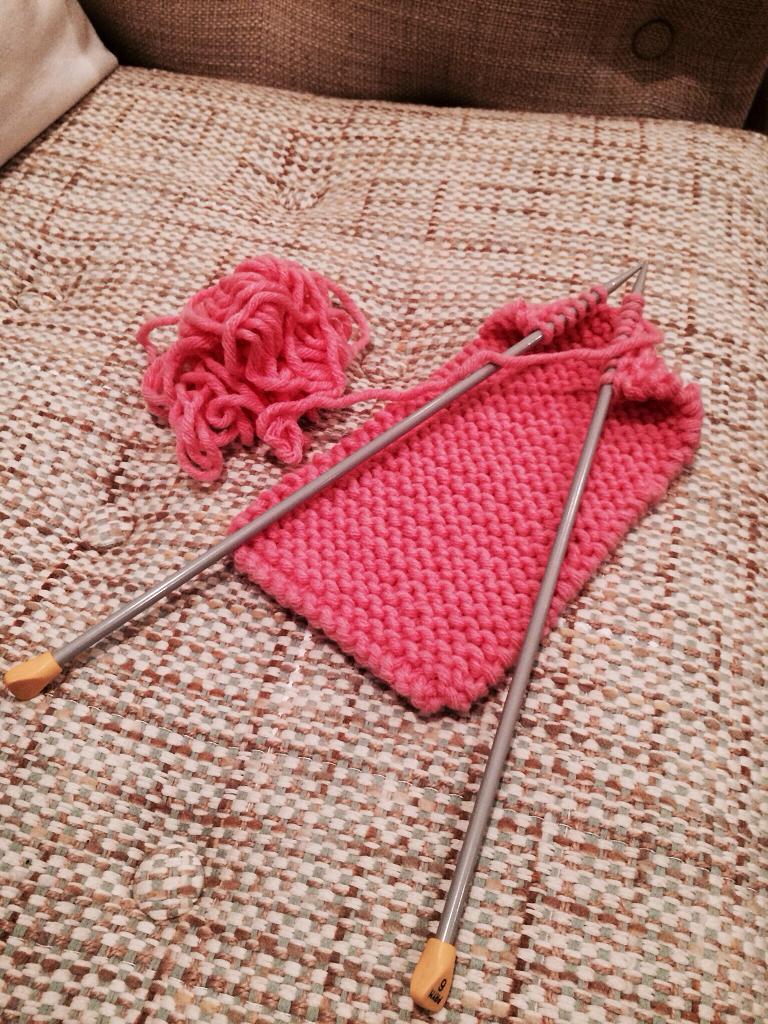 Laila Alkassabi's Garter Stitch