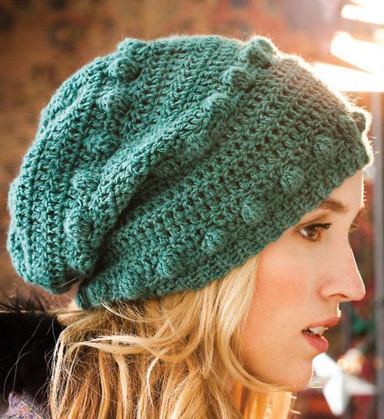 Crocheted Bobble Hat knitting pattern