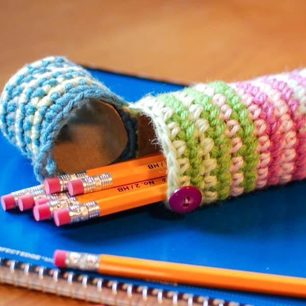 Pencils in case