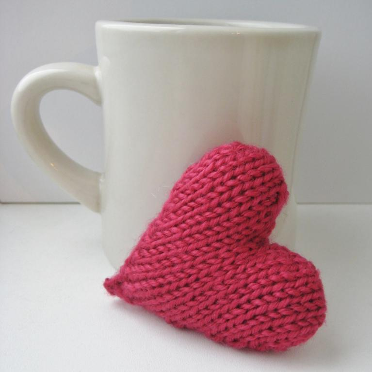 Love Heart knitting pattern