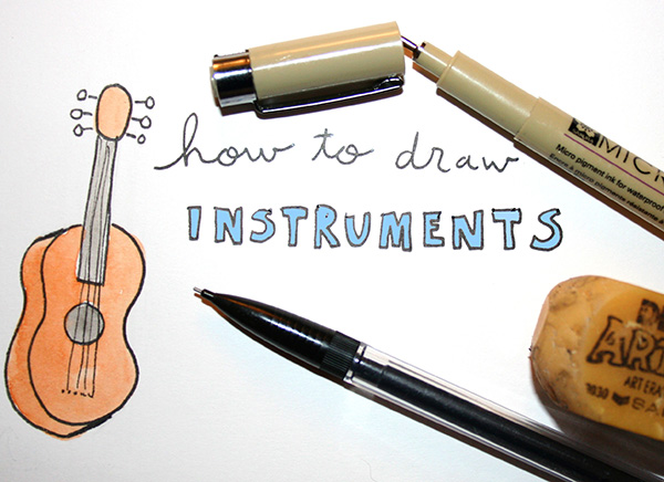 How to draw instruments