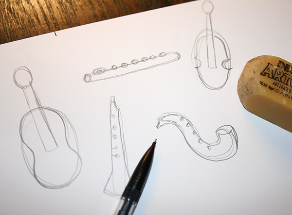 Refined instrument shapes