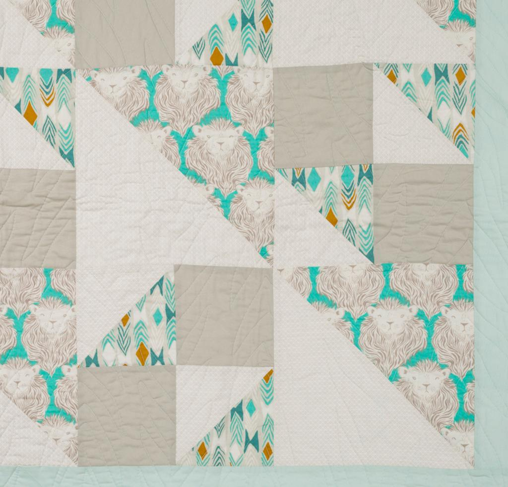 Mezzanine Quilt Kit close up