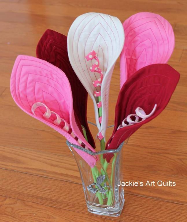 3D lilies