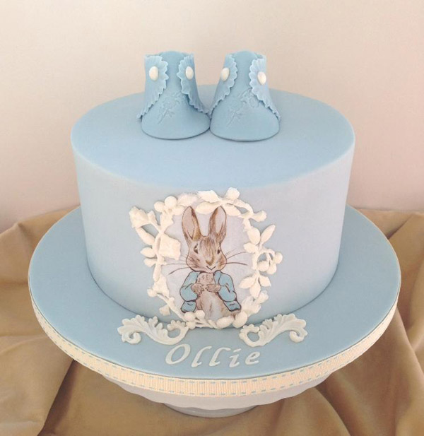 Peter Rabbit christening cake by Bluprint member Artful Bakery