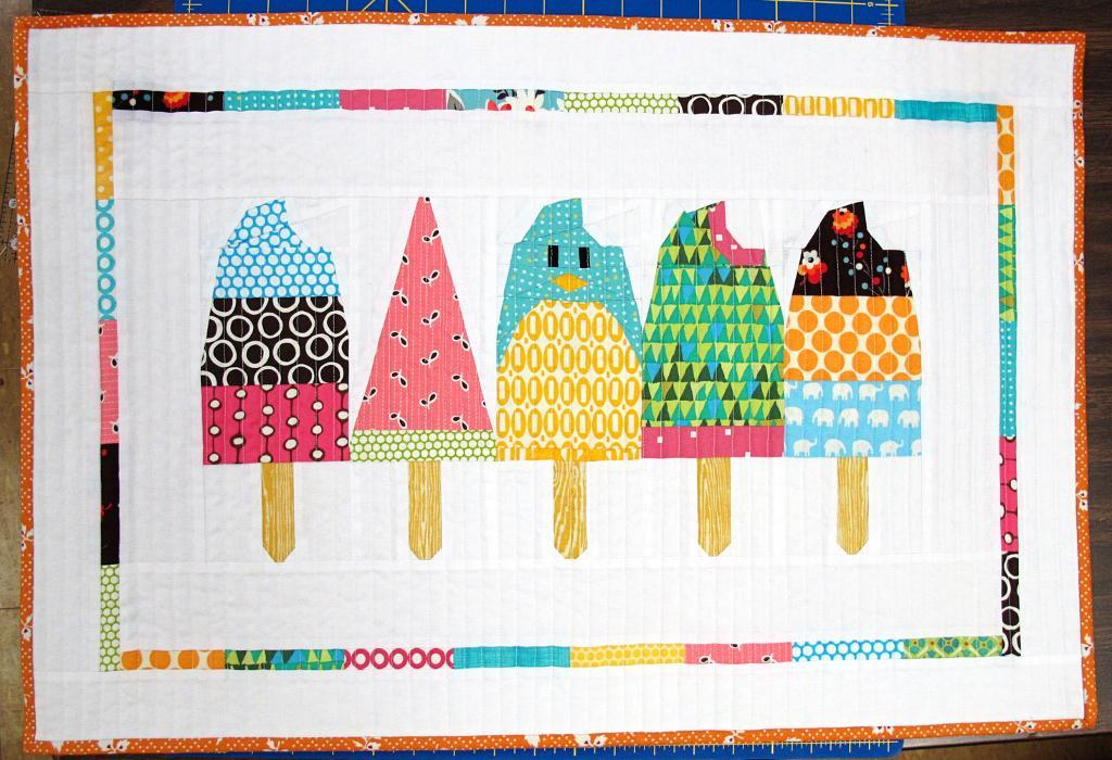 popsicle doll quilt
