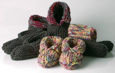 Wooly Woodland Moccasins