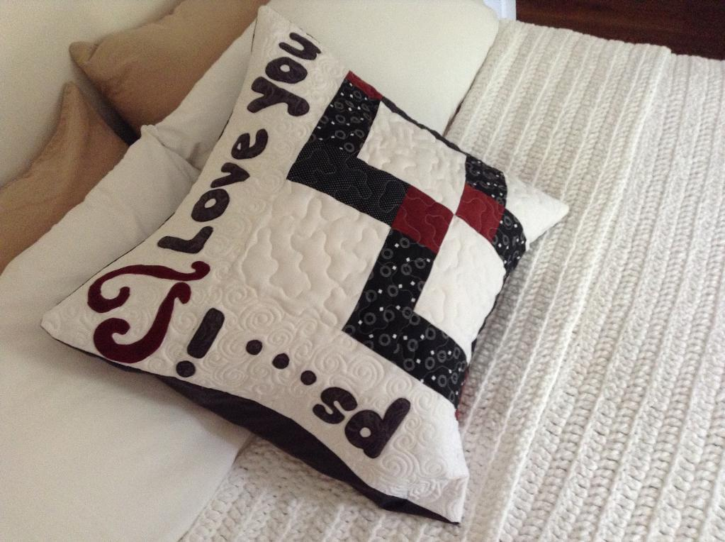ps... i love you pillow pattern
