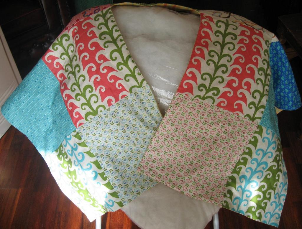 quilted shawl pattern
