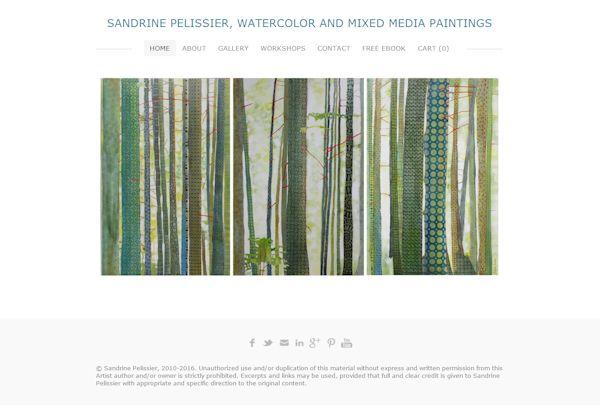 sandrine pelissier website