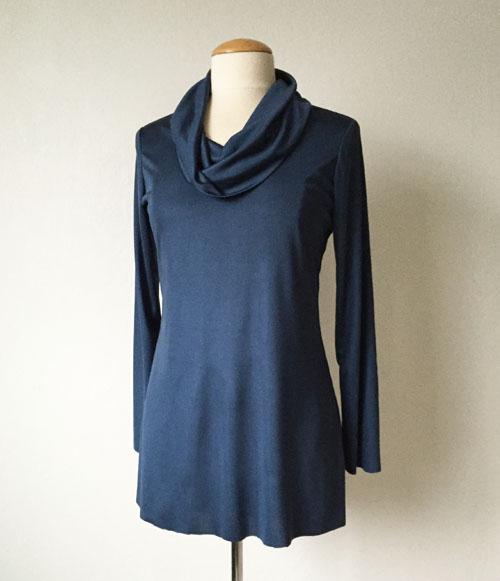 silk tunic top