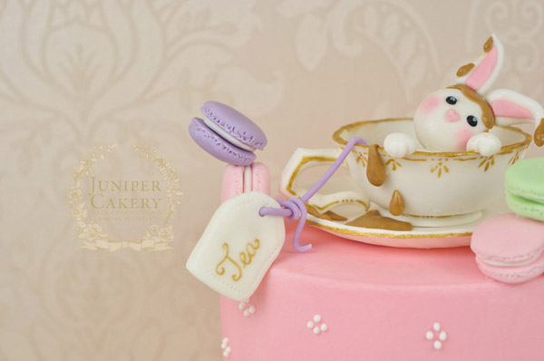 How to make a sugar tea cup by Juniper Cakery