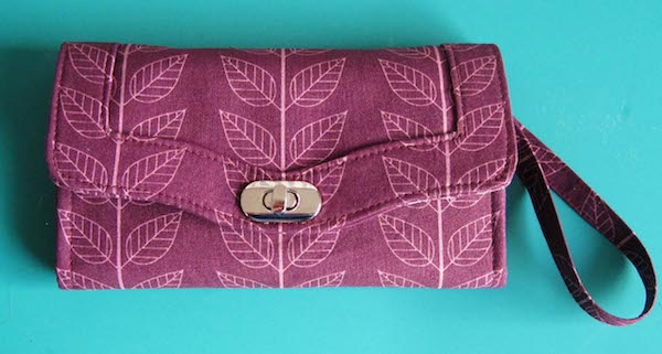 the Clutch Wallet with Wrist strap