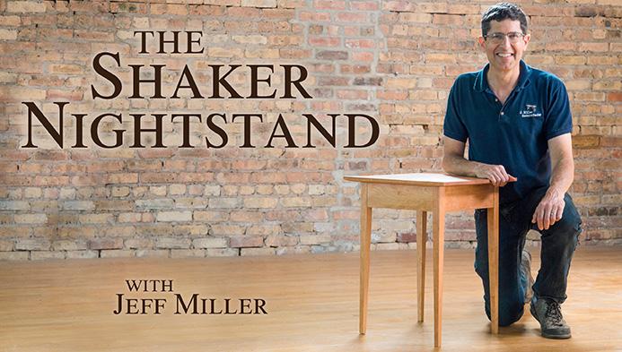 Shaker Nightstand Class