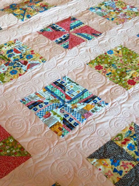 windy pinwheel quilt