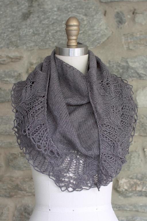 Trufa Shawl knitting kit