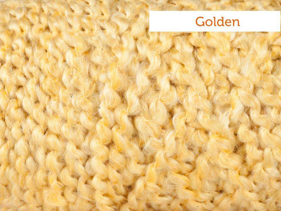 Lion Brand homespun Yarn in Golden