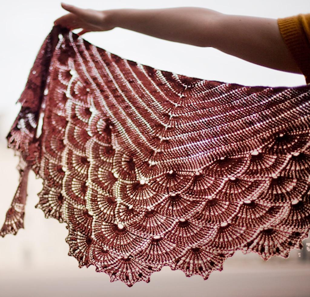 Venus Shawl Kit for crochet
