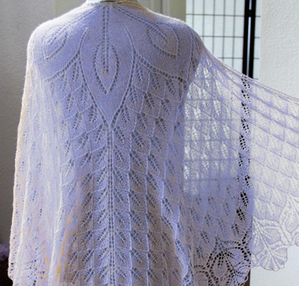 Fiore Di Sole shawl knitting kit