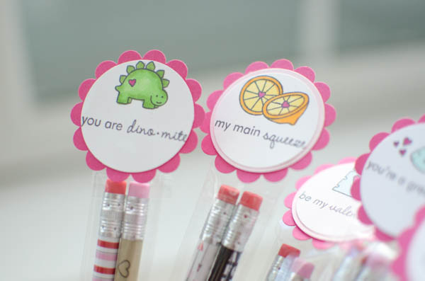 Valentine Pencil Packs