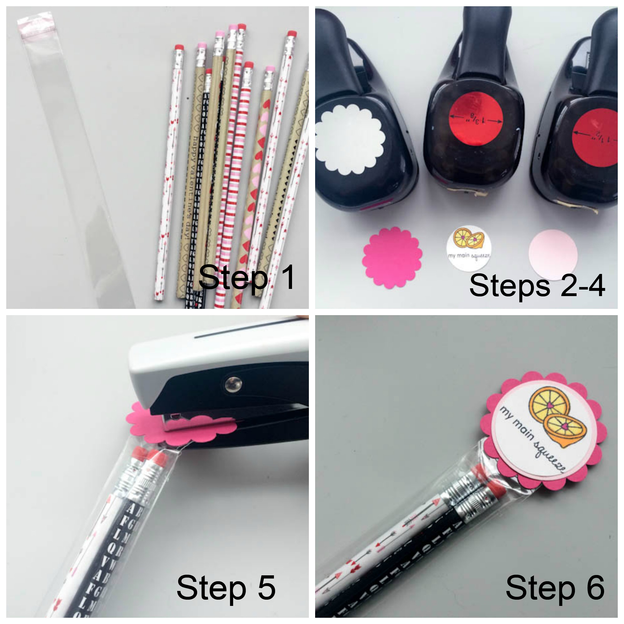 How to Make DIY Valentine Pencil Packs