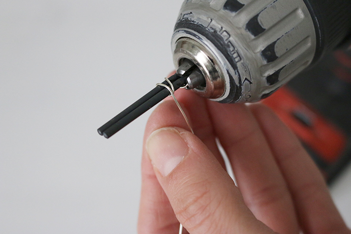 FREE Oval Jump Ring Making - securing drill bits and wire