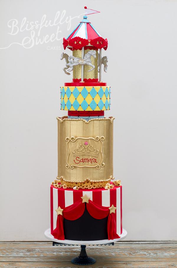 Grand Carnival cake