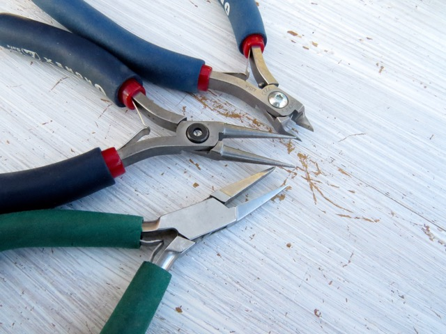 Pliers you will use for this project